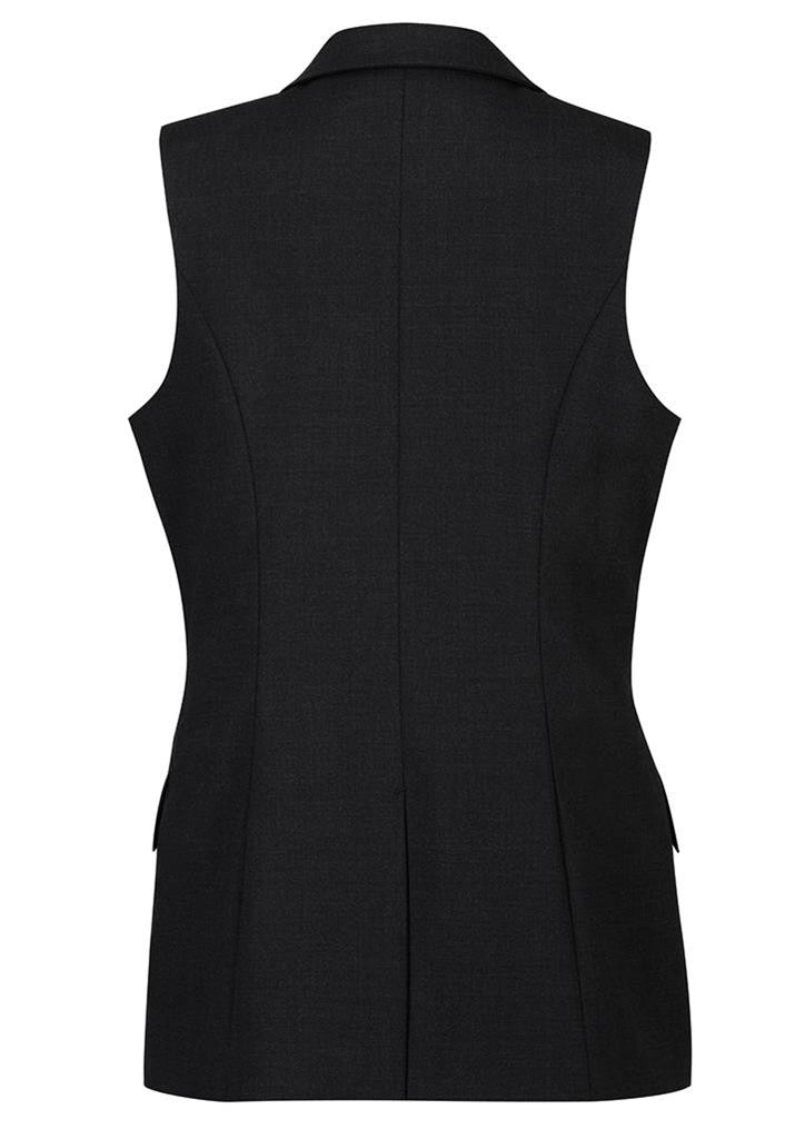 Biz Corporates-Biz Corporates Ladies longline Sleeveless Jacket--Corporate Apparel Online - 3