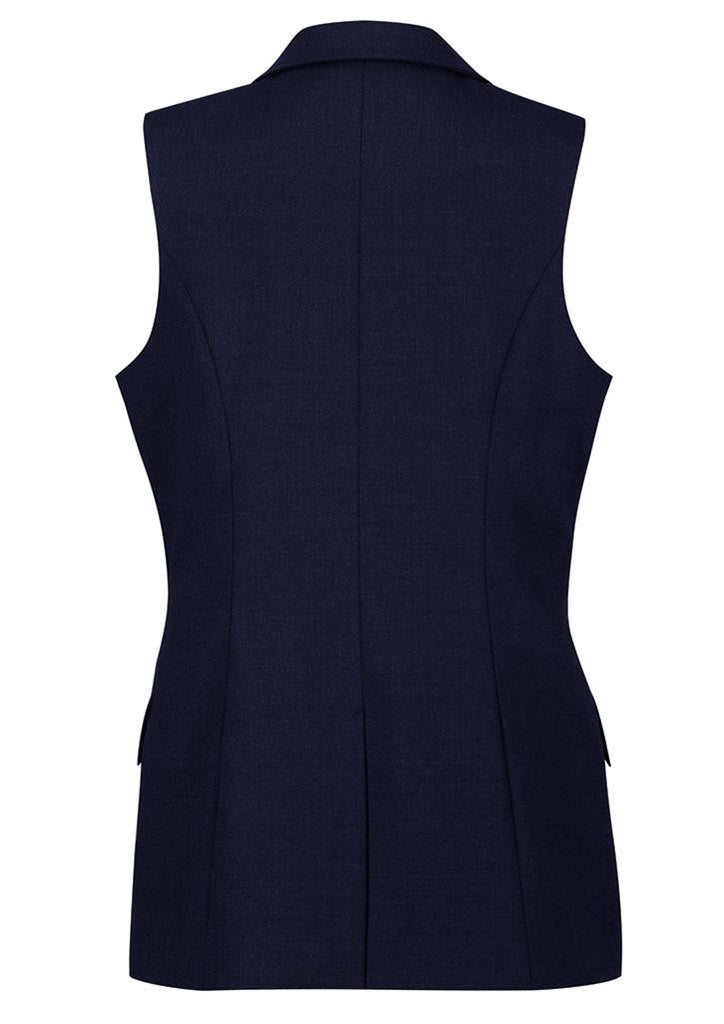 Biz Corporates-Biz Corporates Ladies longline Sleeveless Jacket--Corporate Apparel Online - 7