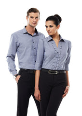 Biz Collection-Biz Collection Edge Mens long sleeve shirt--Corporate Apparel Online - 3