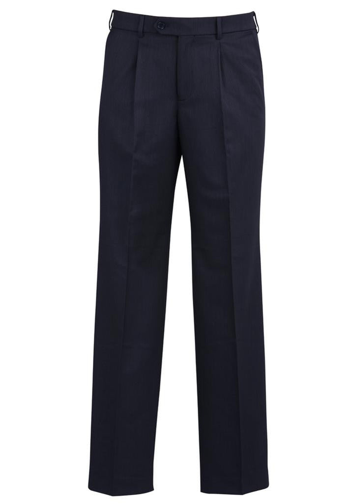 Biz Corporates-Biz Corporates One Pleat Pant Regular-Navy / 82-Corporate Apparel Online - 6
