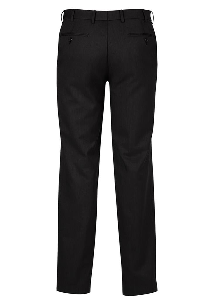 Biz Corporates-Biz Corporates Flat Front Pant Regular--Corporate Apparel Online - 6