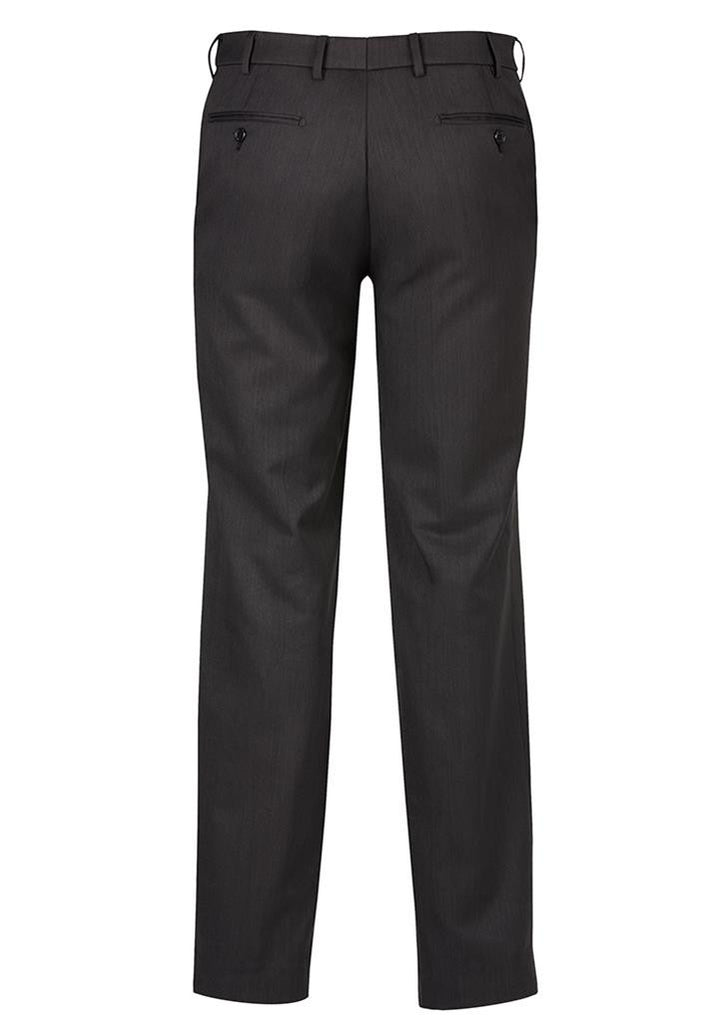 Biz Corporates-Biz Corporates Flat Front Pant Regular--Corporate Apparel Online - 5