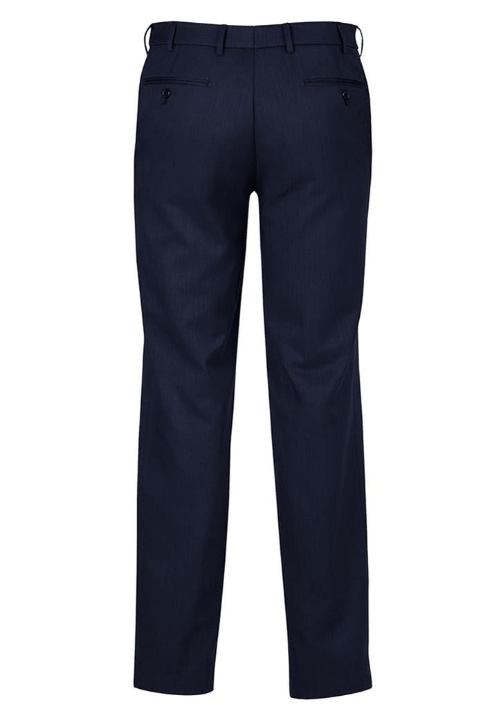 Biz Corporates-Biz Corporates Flat Front Pant Regular--Corporate Apparel Online - 7