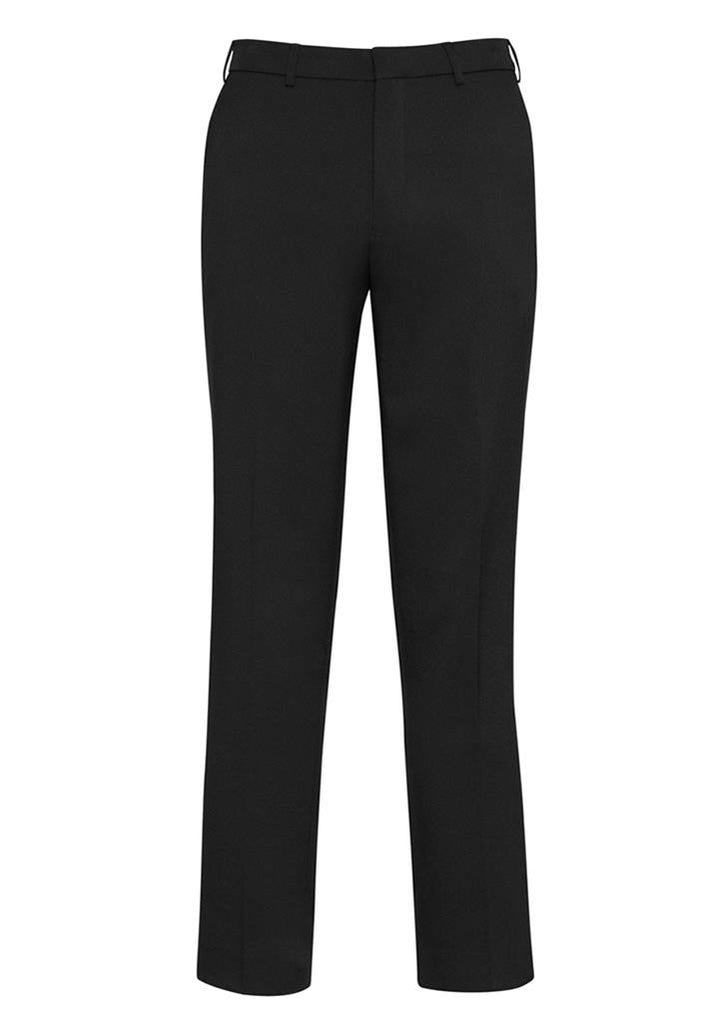 Biz Corporates-Biz Corporates Mens Adjustable Waist Pant Regular-Black / 77R-Corporate Apparel Online - 2