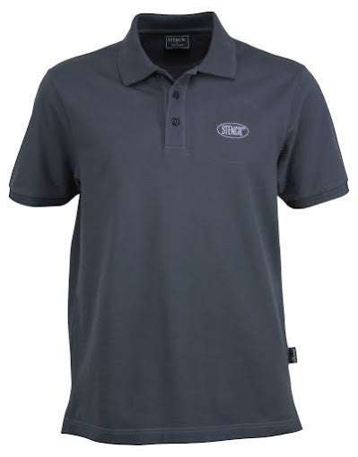 Stencil-Stencil Men's Traverse Polo-Charcoal / S-Corporate Apparel Online - 5
