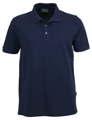 Stencil-Stencil Men's Traverse Polo-Navy / S-Corporate Apparel Online - 4