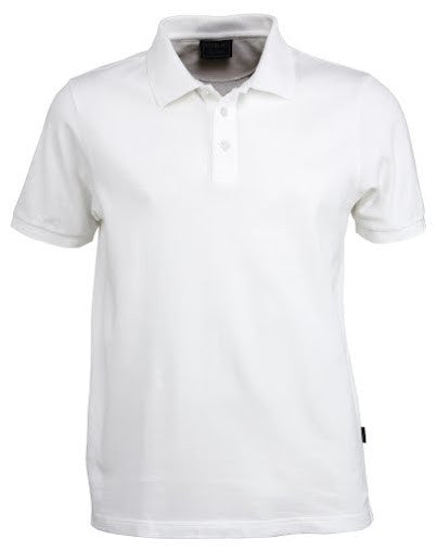Stencil-Stencil Men's Traverse Polo-White / S-Corporate Apparel Online - 1