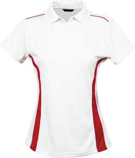 Stencil-Stencil Ladies' Player Polo-White/Red / 8-Corporate Apparel Online - 6