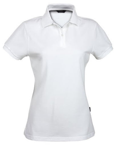 Stencil-Stencil Ladies' Traverse Polo-White / 8-Corporate Apparel Online - 1