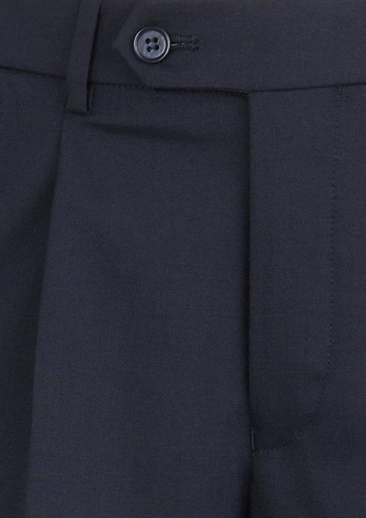 Biz Corporates-Biz Corporates Mens One Pleat Pant Stout--Corporate Apparel Online - 3