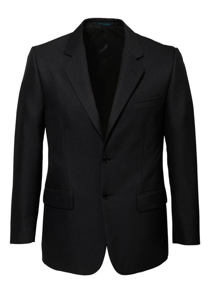 Biz Corporates-Biz Corporates Men's Single Breasted 2 Button Suit Jacket-Black / 92-Corporate Apparel Online - 2