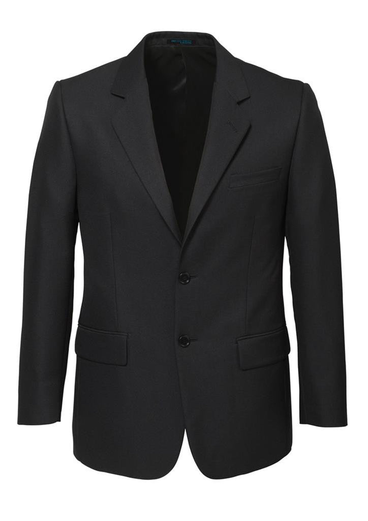 Biz Corporates-Biz Corporates Men's Single Breasted 2 Button Suit Jacket-Charcoal / 92-Corporate Apparel Online - 4