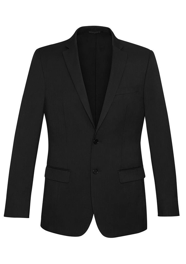 Biz Corporates-Biz Corporates Men's Slimline 2 Button Suit Jacket-Black / 92-Corporate Apparel Online - 2