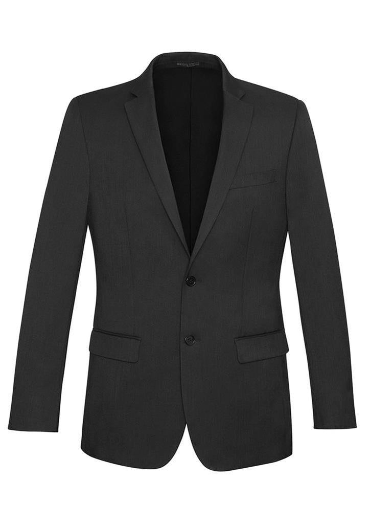 Biz Corporates-Biz Corporates Men's Slimline 2 Button Suit Jacket-Charcoal / 92-Corporate Apparel Online - 4