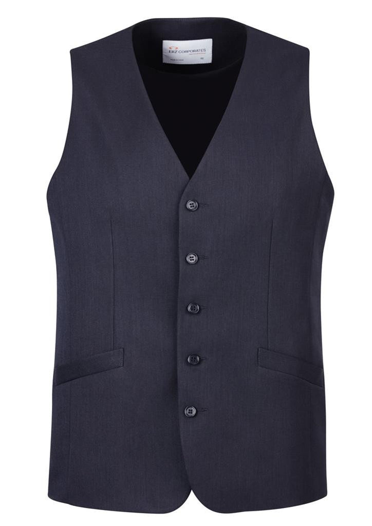 Biz Corporates-Biz Corporate Men's Longline Vest-Navy / 87-Corporate Apparel Online - 6