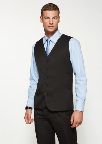 Biz Corporates-Biz Corporate Men's Longline Vest--Corporate Apparel Online - 1