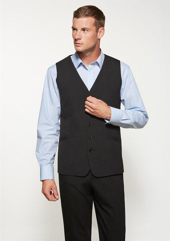 Biz Corporates-Biz Corporates Men's Longline Vest--Corporate Apparel Online - 1