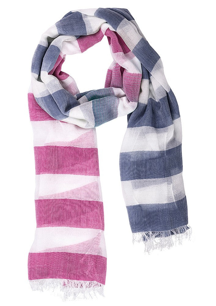 Biz Corporates-Biz Corporate Ladies Two Tone Scarf--Corporate Apparel Online - 3