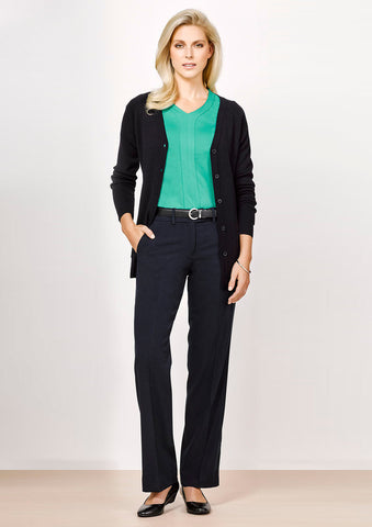 Biz Corporates-Biz Corporate Advatex Ladies Adjustable Waist Pant--Corporate Apparel Online - 1