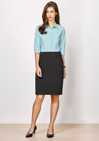 Biz Corporates-Biz corporates Advatex Ladies Adjustable Waist Skirt--Corporate Apparel Online - 1