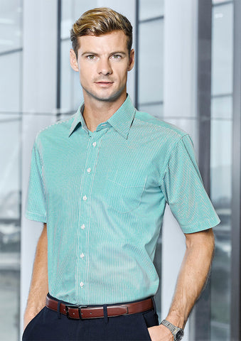 Biz Corporates-Biz Corporates Advatex Lindsey Mens Short Sleeve Shirt--Corporate Apparel Online - 1