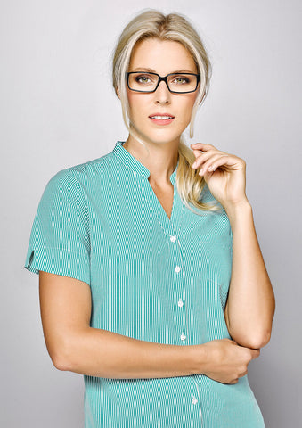 Biz Corporates-Biz Corporates Advatex Toni Ladies Short Sleeve Shirt--Corporate Apparel Online - 1