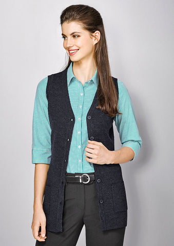 Biz Corporates-Biz Corporate Advatex Varesa Ladies Vest--Corporate Apparel Online - 1
