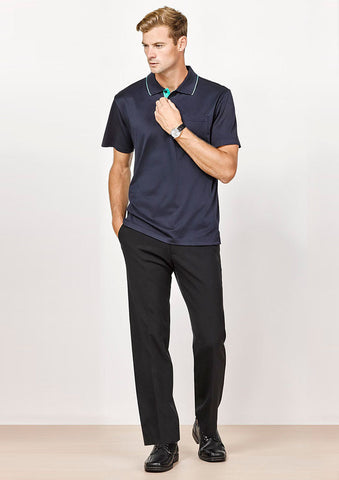 Biz Corporates-Biz Corporate Advatex Mens Adjustable Waist Pant--Corporate Apparel Online - 1