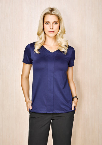 Biz Corporate Womens Advatex Mae Short Sleeve Knit Top (AC41412)