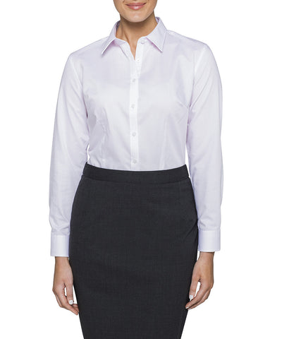 Van Heusen Women's Classic Fit Shirt Cotton Polyester Yarn Dyed Check Easy Care (AWL155)