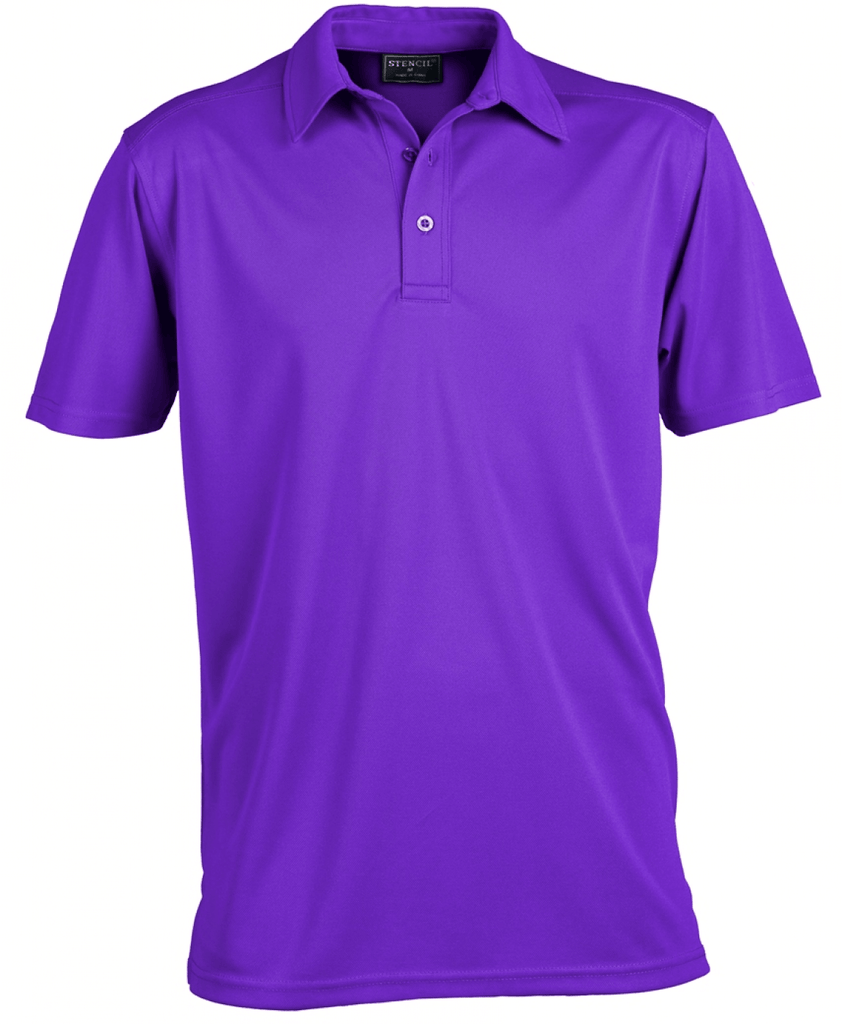 Stencil Men's Glacier Polo (1054)
