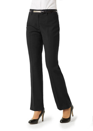 Biz Collection Ladies Classic Flat Front Pant (BS29320)