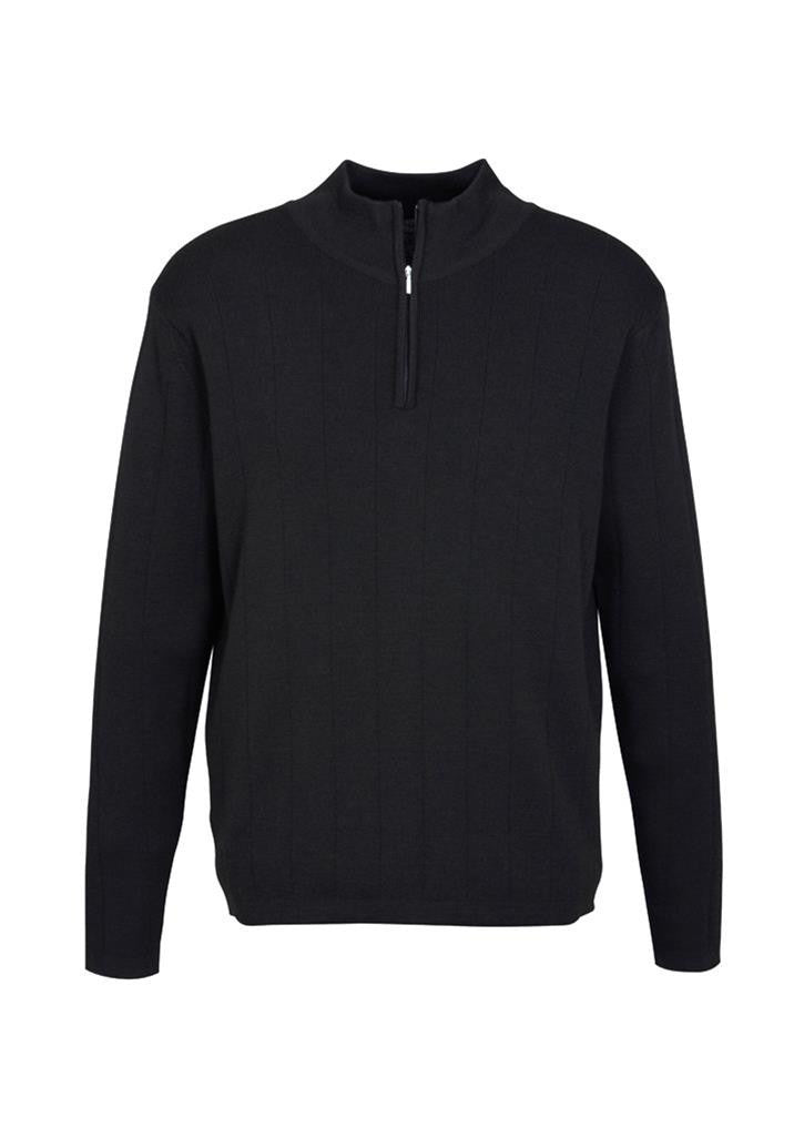 Biz Collection-Biz Collection Mens 80/20 Wool-Rich Pullover--Corporate Apparel Online - 1