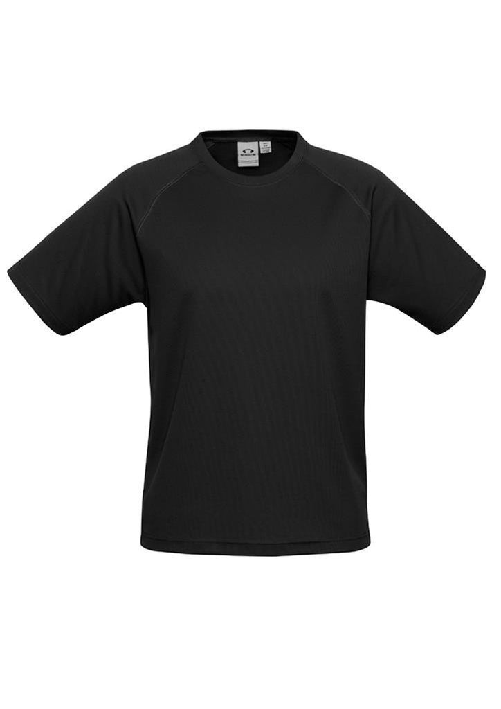 Biz Collection-Biz Collection Mens Sprint Tee-Black / S-Corporate Apparel Online - 1