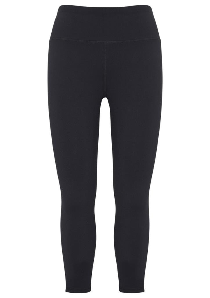 Biz Collection-Biz Collecetion Ladies Flex 3/4 Leggings-Black / XS-Corporate Apparel Online - 2
