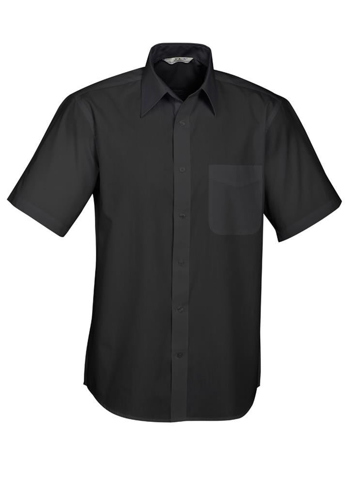 Biz Collection-Biz Collection Mens Base Short Sleeve Shirt--Corporate Apparel Online - 1