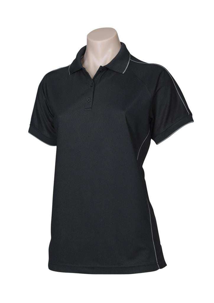 Biz Collection-Biz Collection Ladies Resort Polo-Black / 8-Corporate Apparel Online - 2