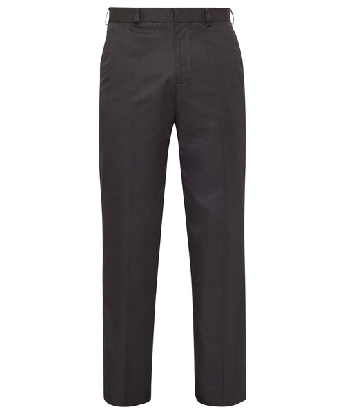 Bracks Easy Care Polyester Soft Touch Stripe Flat Front Trouser (TRFFB2121)