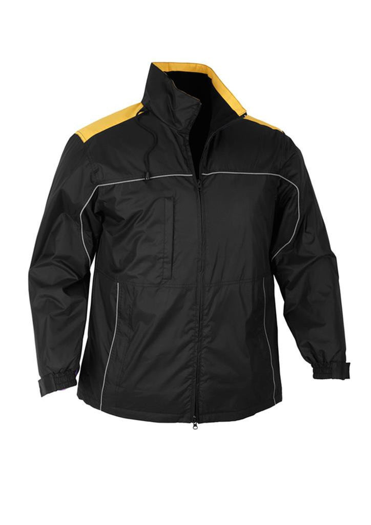 Biz Collection-Biz Collection Mens Reactor Jacket-Black/Gold / S-Corporate Apparel Online - 2
