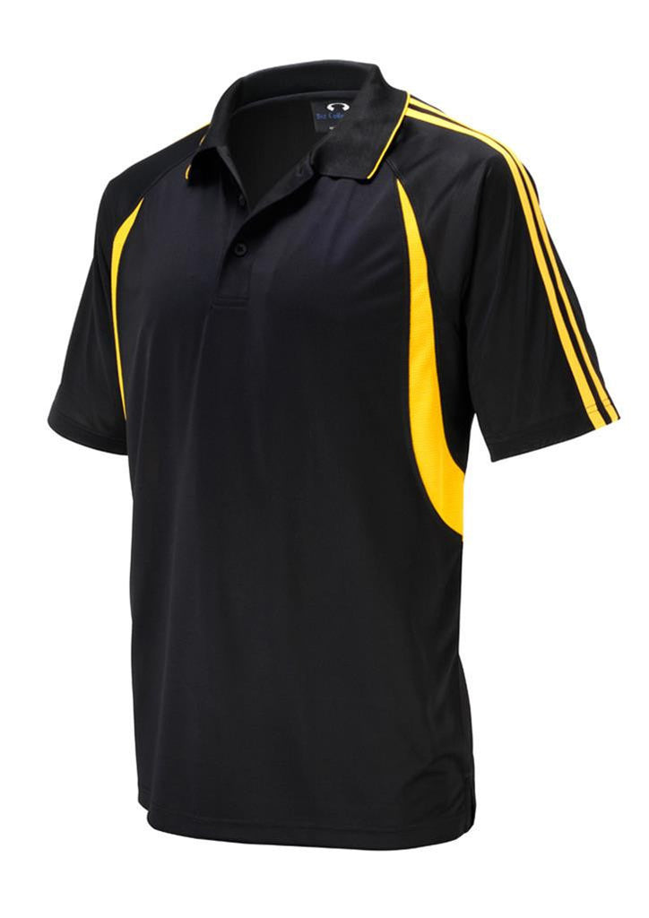 Biz Collection-Biz Collection Kids Flash Polo 1st ( 10 colour)-Black / Gold / 4-Corporate Apparel Online - 3
