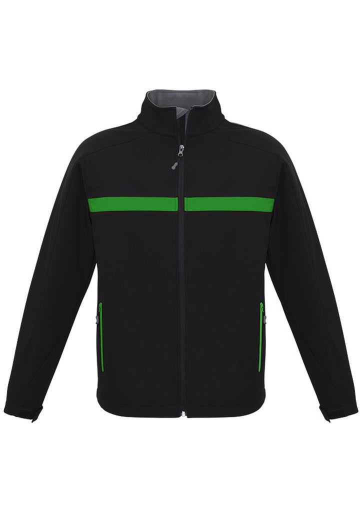 Biz Collection-Biz Collection Unisex Charger Jacket-Black/Green/Grey / XXS-Corporate Apparel Online - 3