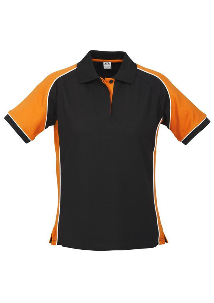 Biz Collection-Biz Collection Ladies Nitro Polo-Black/Orange/White / 8-Corporate Apparel Online - 4