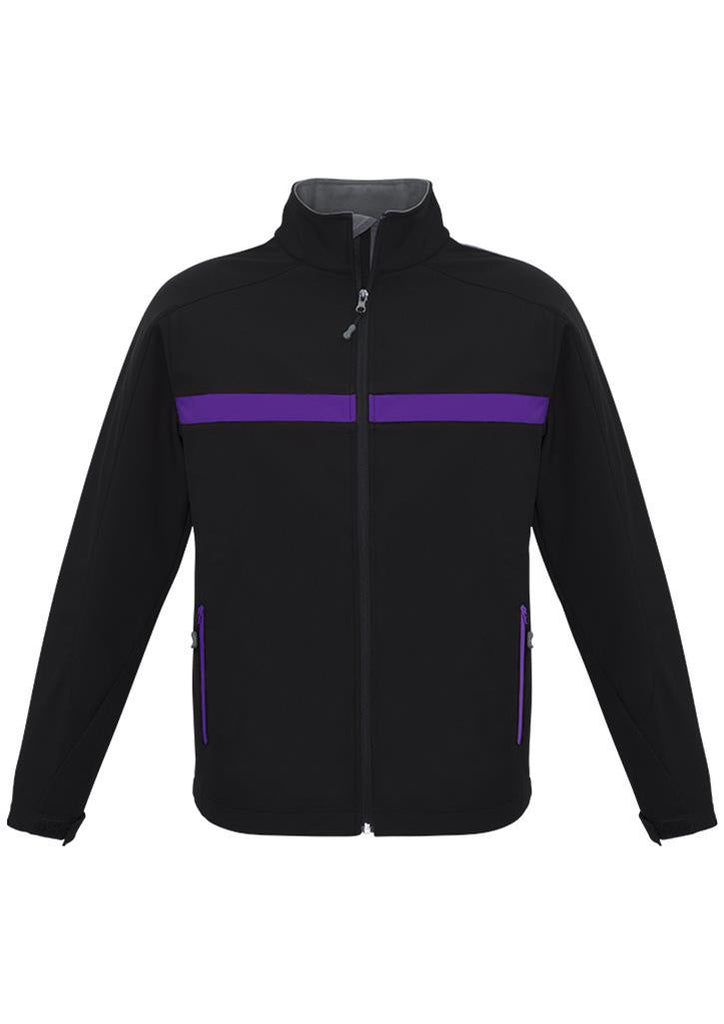Biz Collection-Biz Collection Unisex Charger Jacket-Black/Purple/Grey / XXS-Corporate Apparel Online - 4