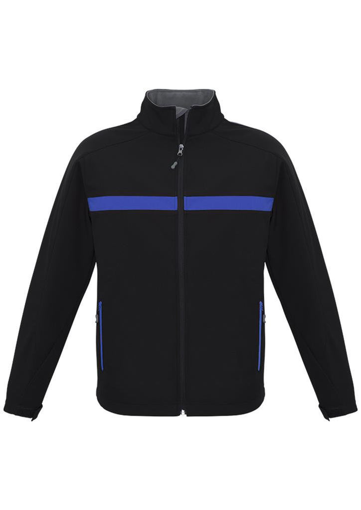 Biz Collection-Biz Collection Unisex Charger Jacket-Black/Royal/Grey / XXS-Corporate Apparel Online - 6