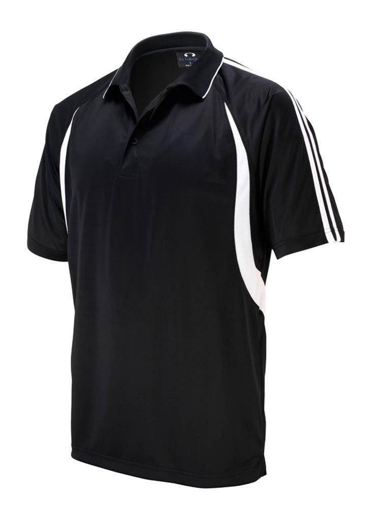 Biz Collection-Biz Collection Kids Flash Polo 1st ( 10 colour)-Black / White / 4-Corporate Apparel Online - 5