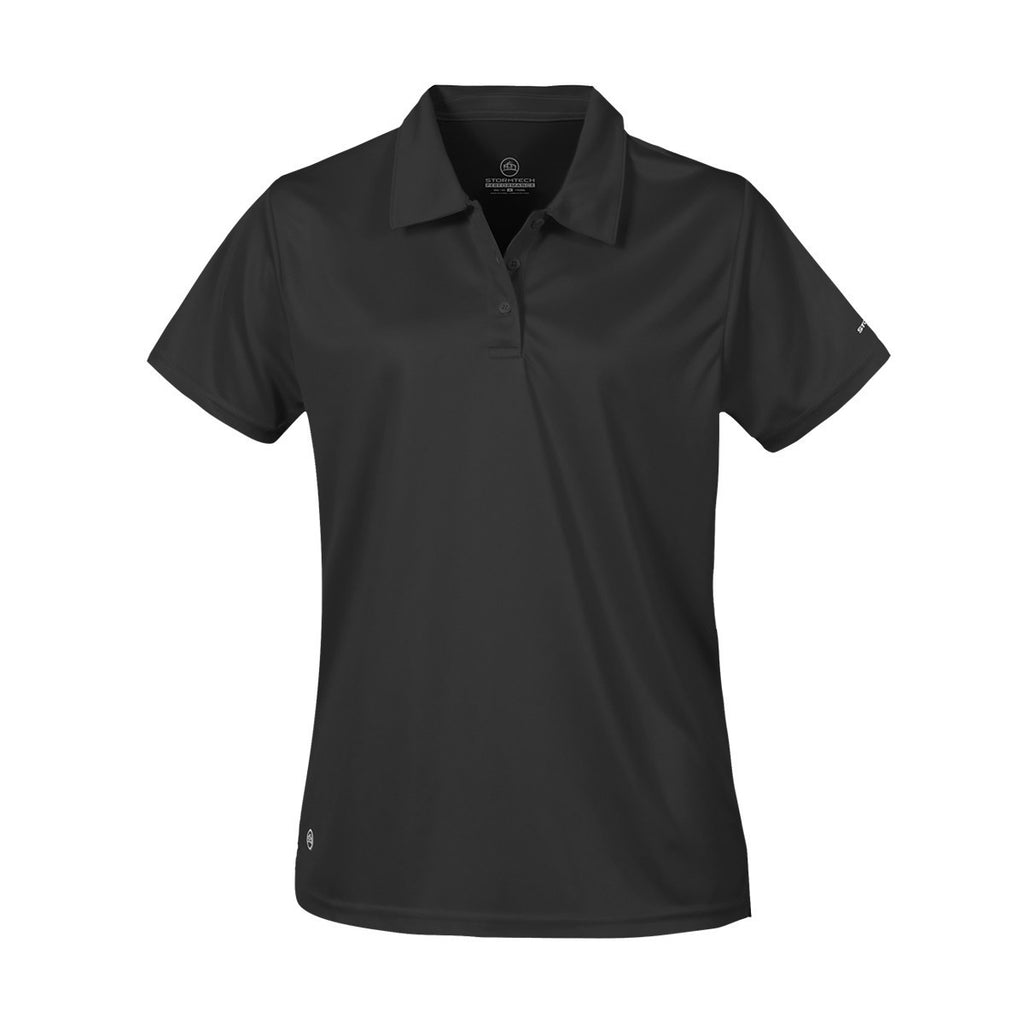 Stormtech-Stormtech Women's H2X-Dry Polo-Black / XS-Corporate Apparel Online - 2