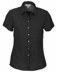 Biz Collection-Biz Collection Ladies Ruby Blouse-Black / White / 6-Corporate Apparel Online - 4