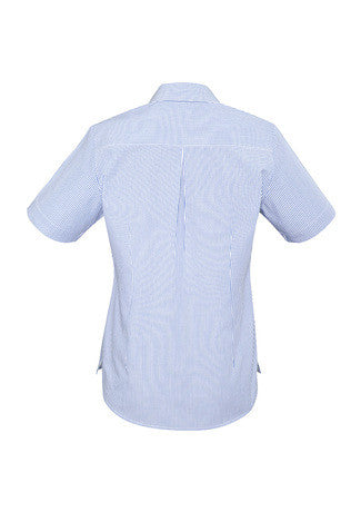 Biz Corporates-Biz Corporates Advatex Lindsey Ladies Short Sleeve Shirt--Corporate Apparel Online - 3