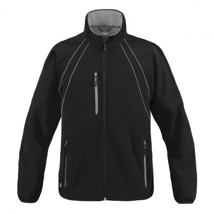 Stormtech-Stormtech Women's Crew Softshell-Black/Reflective Granite / M-Corporate Apparel Online