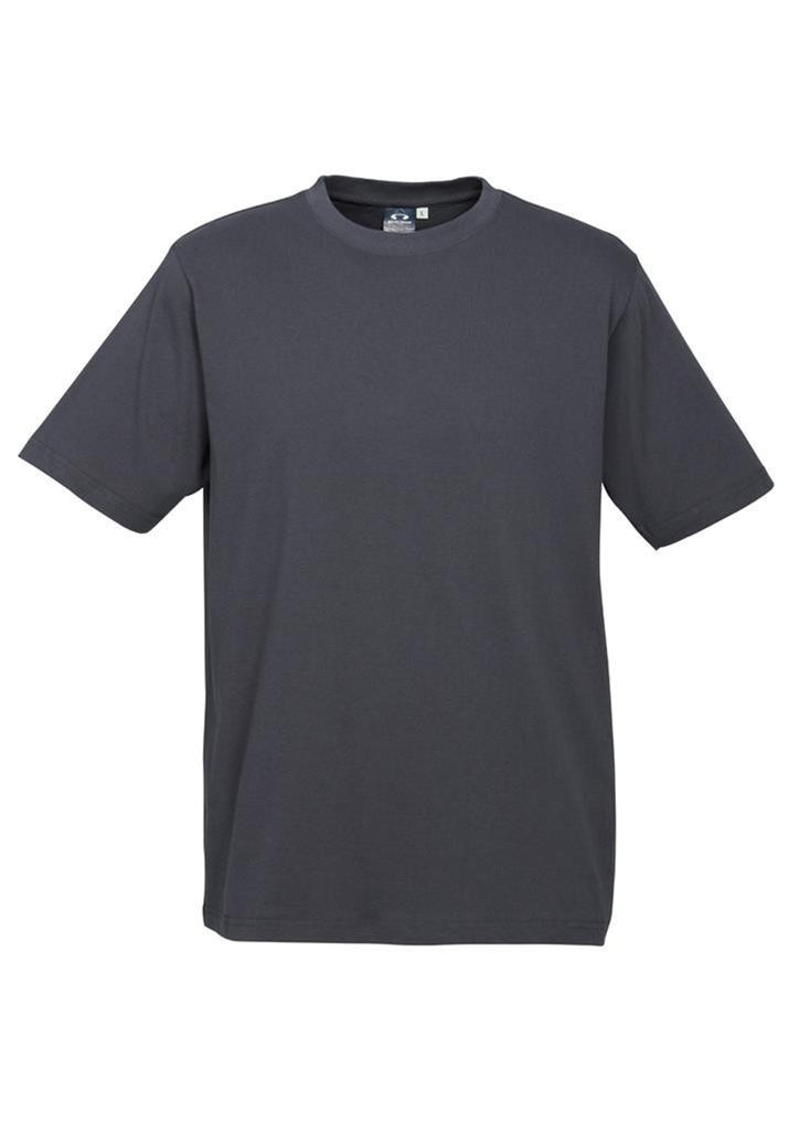 Biz Collection-Biz Collection Mens Ice Tee 1st ( 12 Colour )-Charcoal / S-Corporate Apparel Online - 3